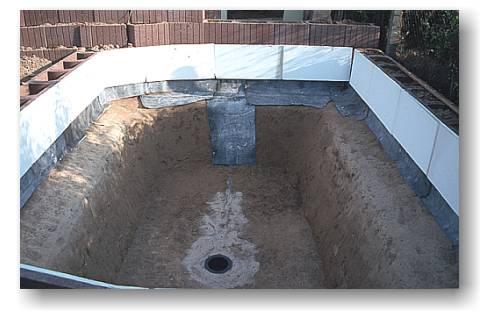 teich bodenablauf einbauen schwimmbad und saunen. Black Bedroom Furniture Sets. Home Design Ideas